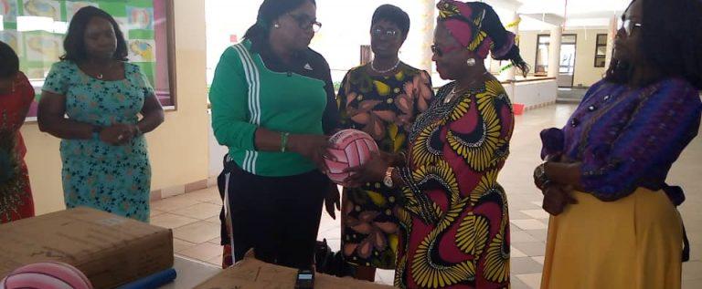 Female Sport Veterans Distribute Netball Equipment To FCT School