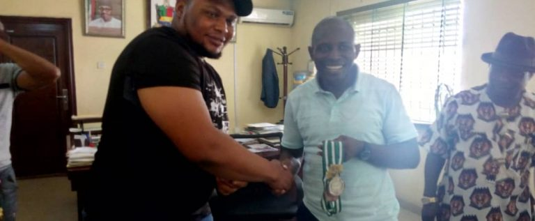 Bayelsa Sport Commissioner Receives State Weightlifters Who Won Medals In Jigawa State