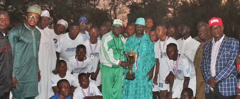 Community Secondary School Wins  16th Olujumu Unity Cup Competition