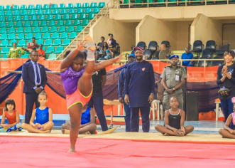 Sports Minister Commends Tony International Gymnastics for nurturing future Gymnasts