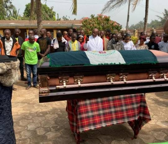 Abandoned In Death: No NFF, Teammates' Representatives As Isaac Promise Is Laid To Rest