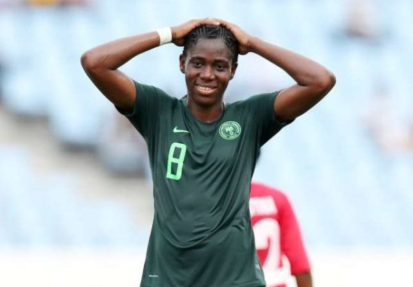 COVID-19 Lockdown:   'I Want To Go Home' – Oshoala Cries Out