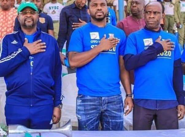 Joseph Yobo Applauds Minister's Passion For Sports Development