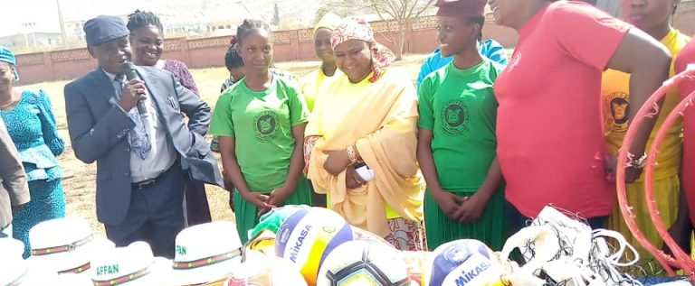 AFFAN Donates Sports Equipment To GGSS Dutse, Set Date For School Championship