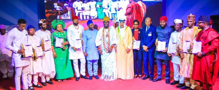 Sports Minister Calls For Institutionalisation Of  Ooni Youth Royal Awards Project