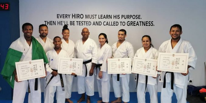 Sensei Agbeje Appointed Japan Karate Nigerian Chief