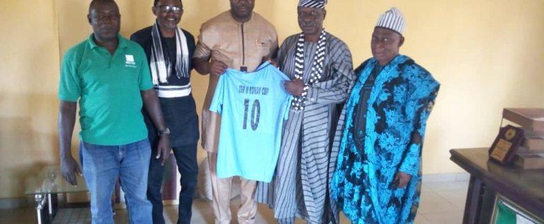 Ter Kunav Recieves Vandeikya Local  Football Council Leaders