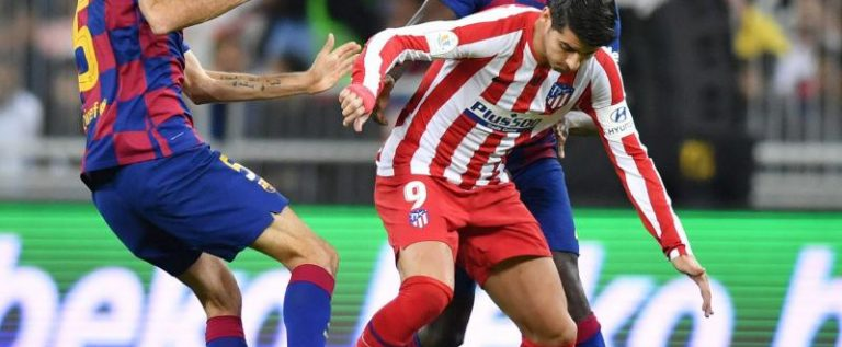 Atletico Stun Barcelona To Set Up All-Madrid Super Cup Final