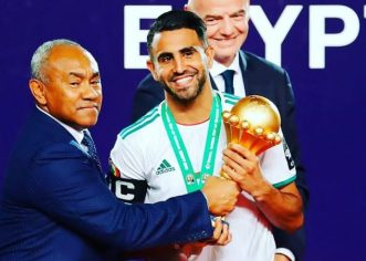 Africa FOTY: Mahrez Congratulates Mane Vows to challenge him next year