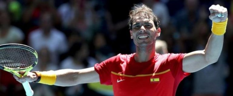 Rafael Nadal Powers Spain Into ATP Cup Quarter-Finals
