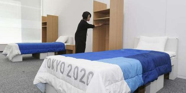 Olympic Athletes Will Be Sleeping On Cardboard Beds At The Tokyo 2020 Games