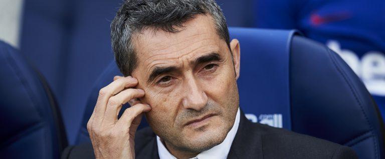 Barcelona Sack Manager Valverde, Appoint Quique Setien As Replacement