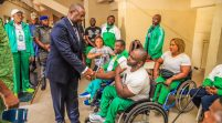 Para Powerlifting World Cup: Minister Receives Athletes, Promises More Support