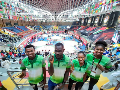 Nigeria Taekwondo Team Arrives UAE For Fujairah Open