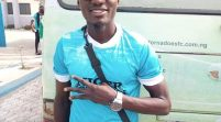 Niger Tornadoes Midfield Marshal, Nosiru Treated To Hero's Reception In Kontagora
