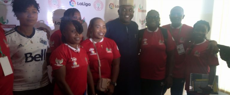 Abuja Coaches Laud LMC/La Liga U-15 Coaching Clinic