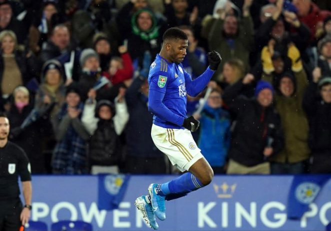 Iheanacho In Contention For Leicester City's Goal Of The Month Award