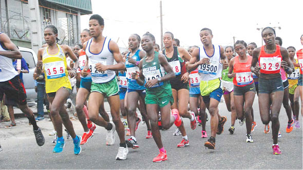 Olopade Applauds AFN President's Contribution To Lagos City Marathon Success