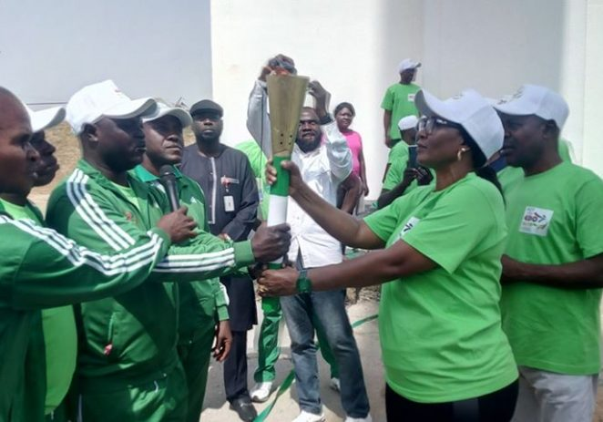 FCT Director Of Sports , Dilichukwu Receives 2020 NSF Unity Torch