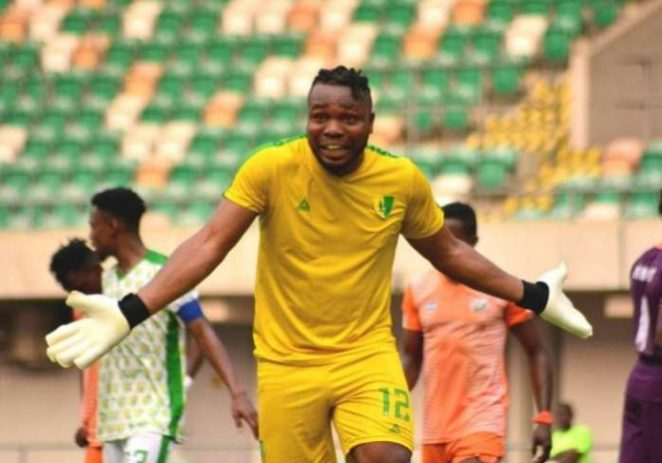 COVID-19: Plateau United Goalkeeper Donates Money For Fans Stay At Home