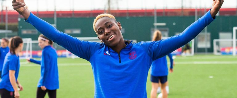 As A Girl Child, My Parents Banned Me From Playing Football – Oshoala