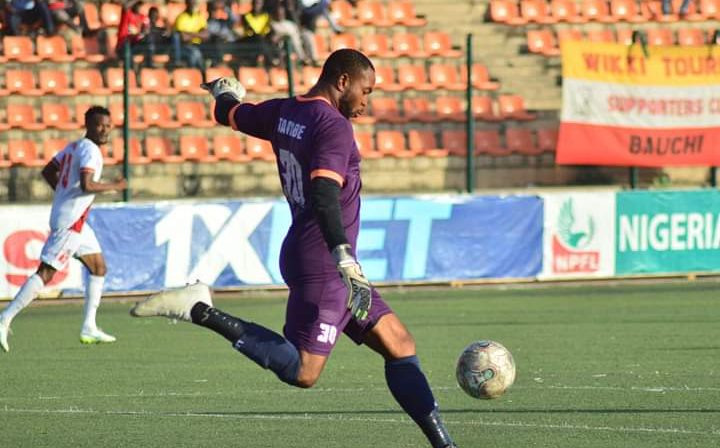 Abia Warriors Goalie, Charles Tambe, Discharged From Hospital