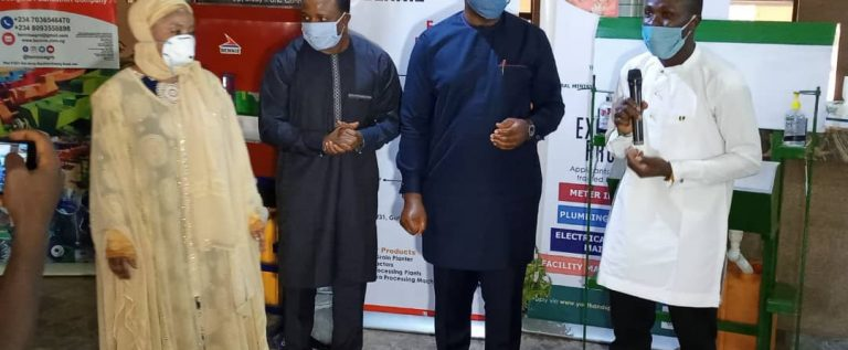 Sports Minister Launches No Contact Machine Face Masks To Curb COVID-19 Spread
