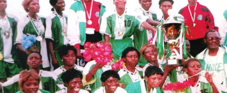 CAF Extols Unstoppable 1998 Super Falcons In A Tribute