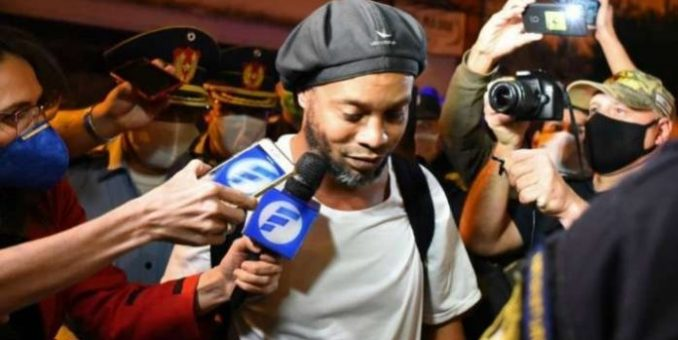 Ronaldinho Set Free After 6 Months In Prison Over Fake Passport