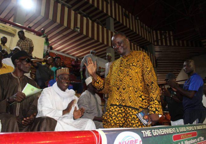 Nigeria Volleyball Federation Donates Coronavirus Palliatives To State Associations