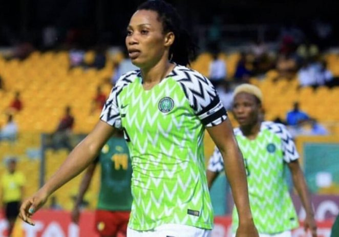 I Started Playing Football In My Mother's Womb – Onome Ebi