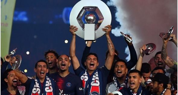 PSG Confirmed 2019/20 Ligue 1 champions After League Cancellation