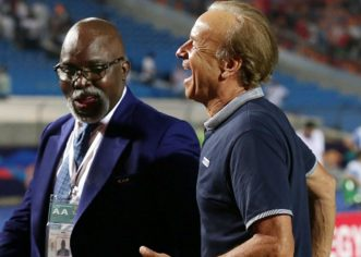 Rohr Signs New Two-and-a-Half Year Super Eagles Contract