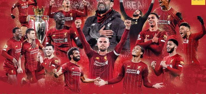 Liverpool Win First Premier League In 30 Years