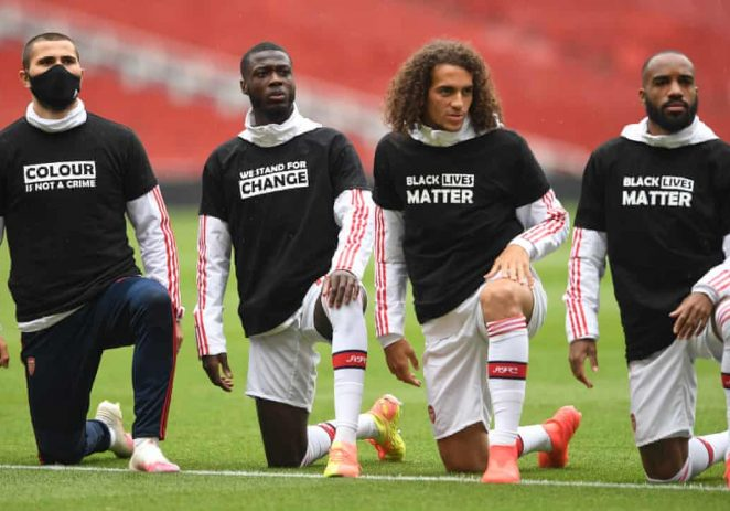 """Black Lives Matter"" To Replace Player's Name As EPL Returns"