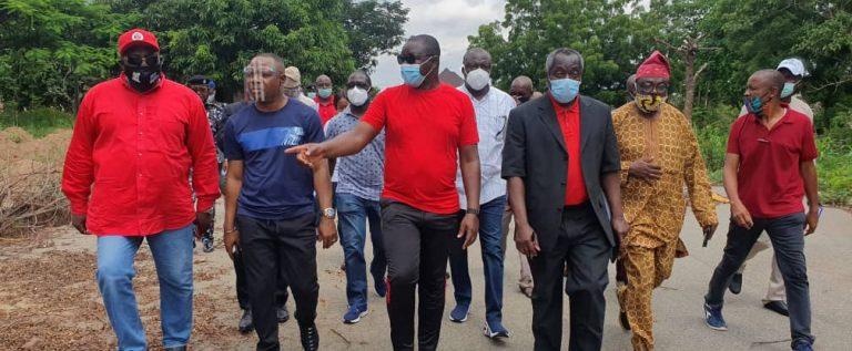 Sport Minister Inspects Moshood Abiola Stadium Ahead Of Renovation