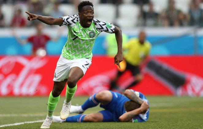 Three EPL Clubs On Ahmed Musa's Radar