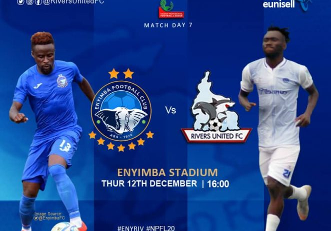 Rivers United Poise For 'War' With Enyimba Over CAF Champions League Slot