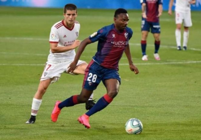 Kelechi Nwakali's Huesca Return To La Liga Next Season