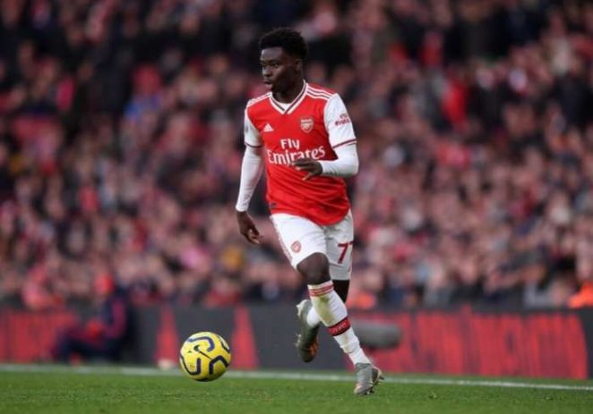 Bukayo Saka, Nominated For Arsenal Player Of The Month Award