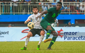 Super Eagles Striker Recovers From COVID-19, Resumes Training