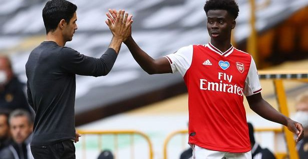 Super Eagles Plans To Snatch Saka From Three Lions
