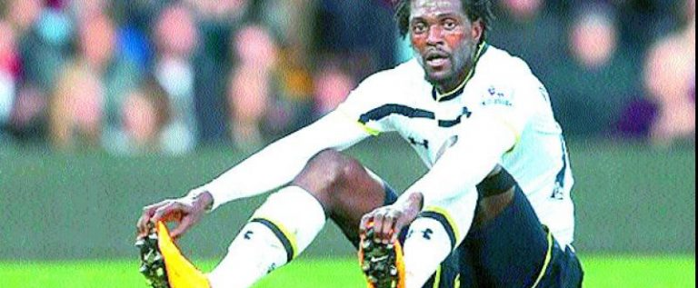 Emmanuel Adebayor Terminates Olimpia's Contract After Four Months