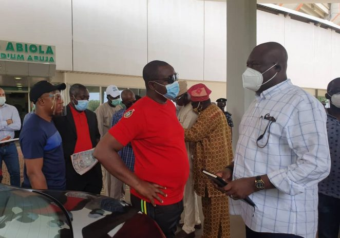 Shooting Federation President Thanks Sports Minister On Visit To Shooting Range