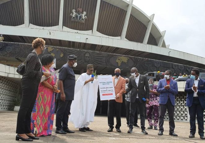 Sports Minister Commends President Buhari On Redevelopment Of National Theatre
