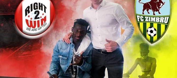 Right2Win Player, Saleh Yahaya Joins Moldovan Topflight Side FC Zimbru