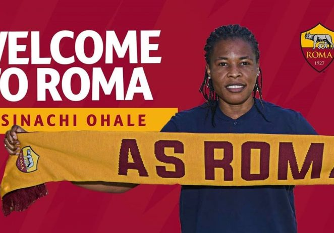Super Falcons Star, Osinachi Ohale, Excited To Join AS Roma