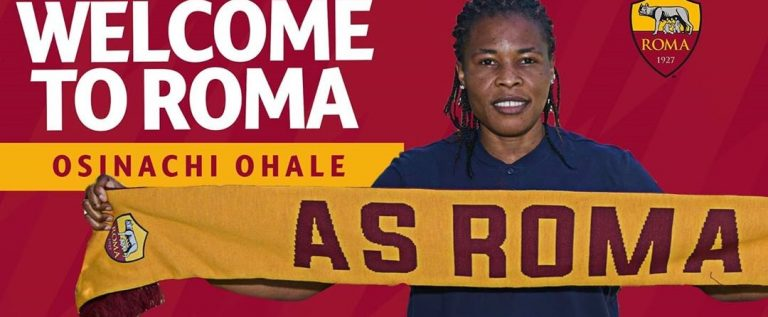 Osinachi Ohale Excited To Join AS Roma