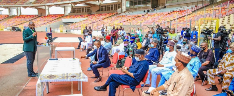 Dangote Group Begins Renovation Of Moshood Abiola Stadium