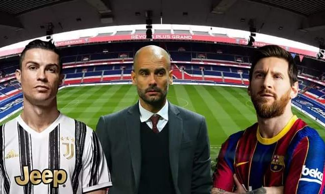 Messi, Ronaldo, Guardiola To Team Up At PSG In 2021